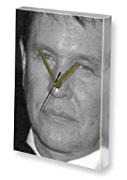 TOM BERENGER - Canvas Clock (LARGE A3 - Signed by the Artist) #js001