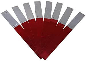 Peterson%20Manufacturing Peterson Manufacturing 465K Red/White Reflective Marking Tape