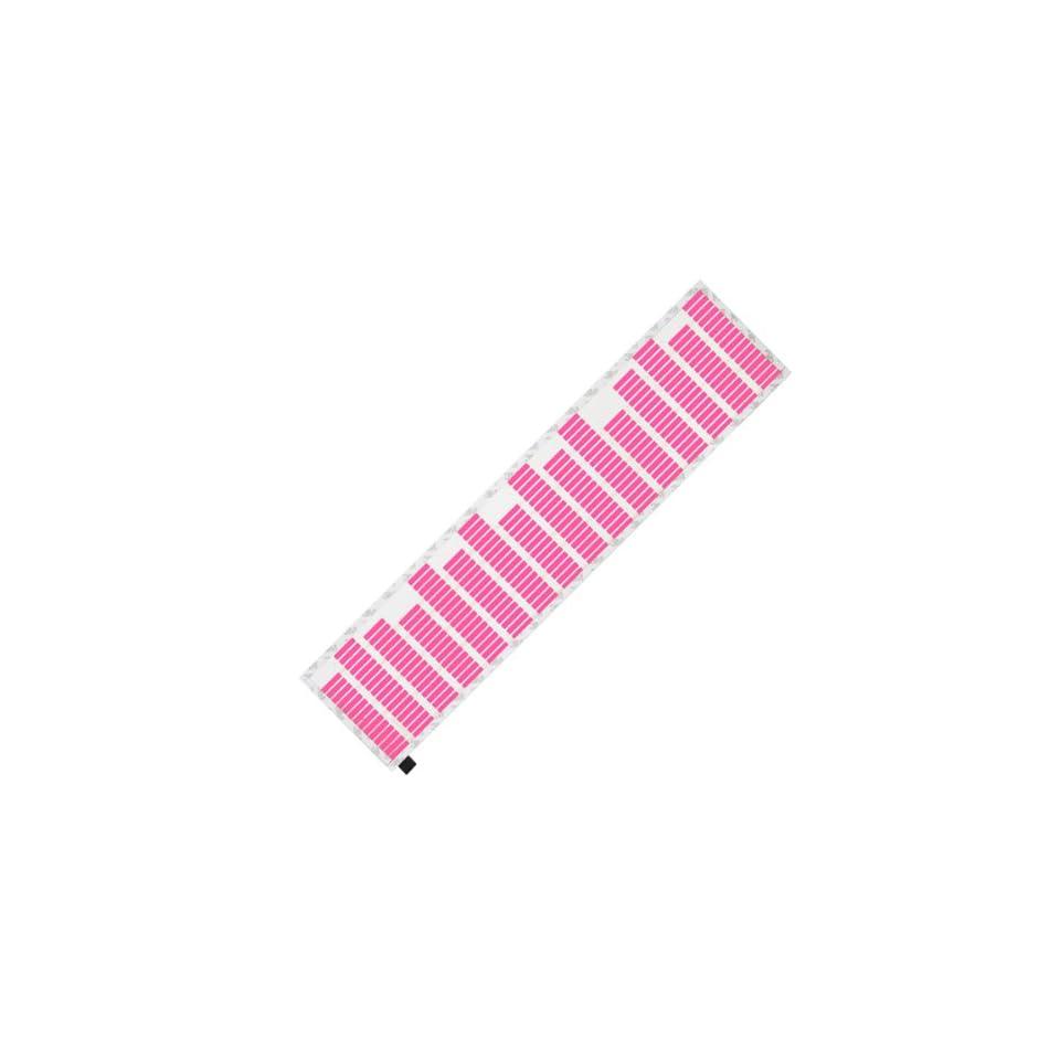 Sanheshun 70X16cm Car Sticker Music Rhythm Pink LED Light Lamp Sound Activated Equalizer
