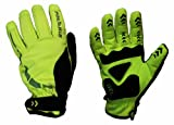 Polaris hoolie hi viz winter cycling gloves size large