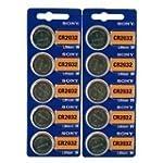 Sony CR2032 Lithium 3V Batteries (2 x...