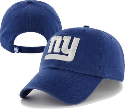 NFL New York Giants Clean Up Adjustable Hat, Royal, One Size Fits All Fits All at Amazon.com