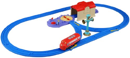Chuggington Plarail - Wilson & Turntable Starter Set (Model Train) (japan import)