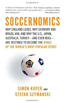"Cover of ""Soccernomics: Why England Loses..."