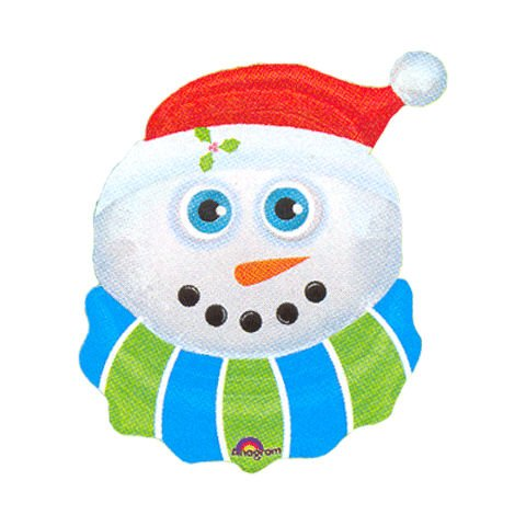 Snowman Eyecatchers Super Shape Balloon