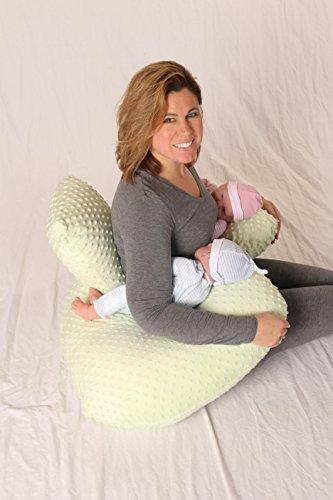 Подушка для кормления для двойни