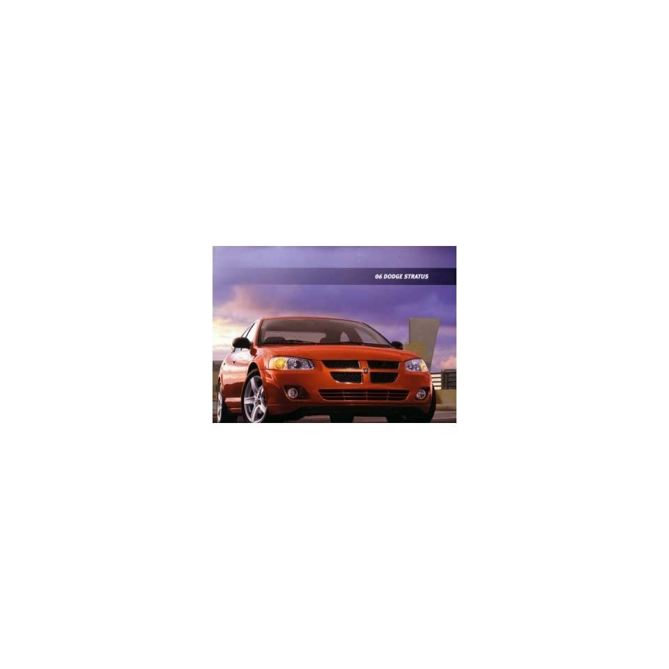 2006 Dodge Stratus Sales Brochure Literature Book Options Specifications Colors
