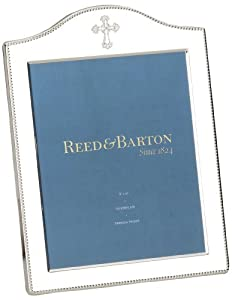 Reed & Barton Abbey 8-by-10 Silver Plate Picture Frame