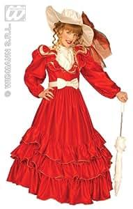 Widman - Disfraz de salvaje oeste para niña, talla 8 - 10 años
