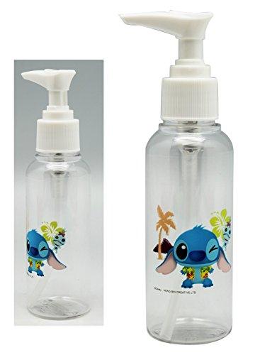 Disney's Stitch and Scrump Clear Plastic Liquid Dispenser (Snoopy Soap Dispenser compare prices)