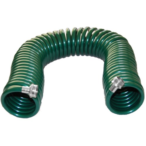 Plastair SpringHose PUWE650B94H-AMZ 50-Foot 3/8-Inch Lead Safe Ultra-Light Recoil Garden Hose, Green
