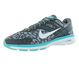 Nike Women\'s Dual Fusion Tr 2 Print Cool Grey/White/Wlf Gry/Dsty Ccts Training Shoe 10 Women US