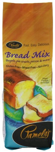 Pamela&#039;s Products Wheat-Free &amp; Gluten-Free, Amazing Bread Mix, 19-Ounce Packages (Pack of 6)