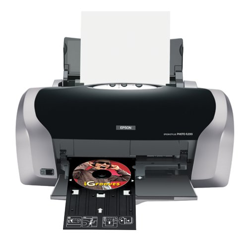 Epson Stylus Photo R200 Ink Jet Printer (C11C546011) (Direct Cd Printer compare prices)