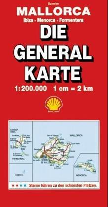 Generalkarte Mallorca / Ibiza / Menorca / Formentera
