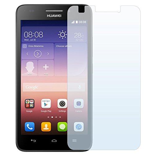 x3 Stück Displayschutzfolie für HUAWEI ASCEND G620S Unsichtbare Premium Folie von PrimaCase