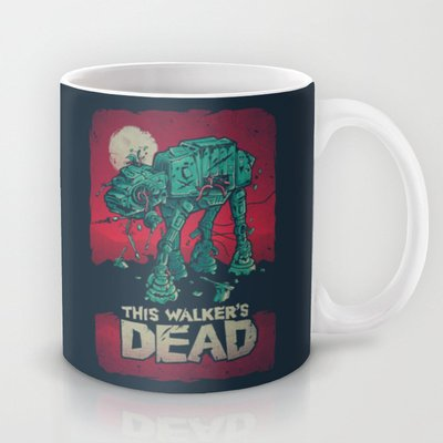 Society6 - Walker'S Dead V2 Coffee Mug By Victor Vercesi
