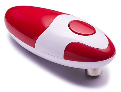 Chef's Star Smooth Edge Automatic Can Opener (Red)