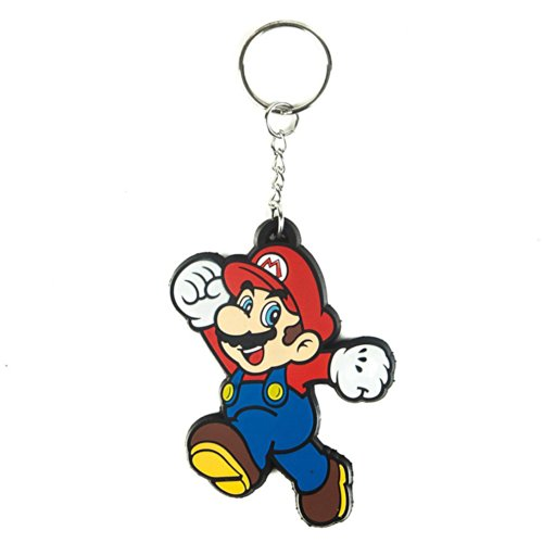 Nintendo - Mario Rubber Schlüsselanhänger [Edizione: Germania]