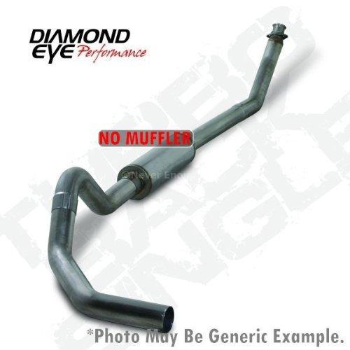"Diamond Eye K4212S-Rp Diesel Exhaust 4"" Turbo Back 409 Ss - No Muffler Cummins"