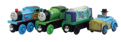 Thomas And Friends Wooden Railway - Slippy Sodor Gift Pack