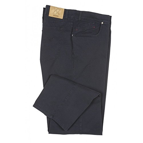 Pantalone Maxfort Saxon taglie forti uomo - Blu, 60 GIROVITA 120 CM