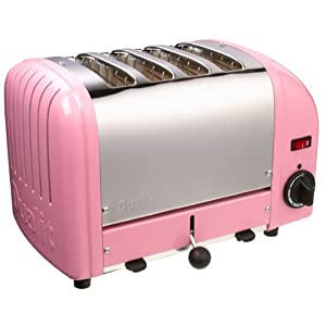 Dualit 4-Slice Toaster, Petal Pink