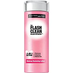 2 Pk, Maybelline New York Clean Express Makeup Removing Lotion, 4 Fluid Ounce