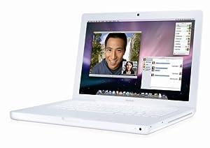 Apple MacBook MB403LL/A 13.3-inch Laptop (2.4 GHz Intel Core 2 Duo Processor, 2 GB RAM, 160 GB Hard Drive) White