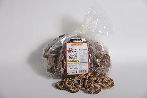 Uncle Henry'S 2X3 Lb. Bags Extra Dark Extra Salt Pretzels front-230233