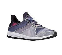 adidas Performance Women\'s Gymbreaker Bounce Training Shoe,Black/Black/Pink,5 M US