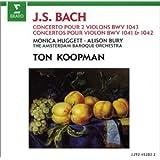 J.-S. Bach :  Concerto pour 2 violons BWV 1043 - Concertos pour violon BWV 1041 et BWV 1042