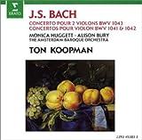 echange, troc  - Bach - Concertos pour violon (s) BWV 1043, 1041 & 1042
