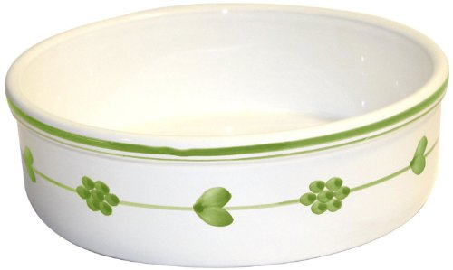 Caleca Pervinca Green Souffle Baker