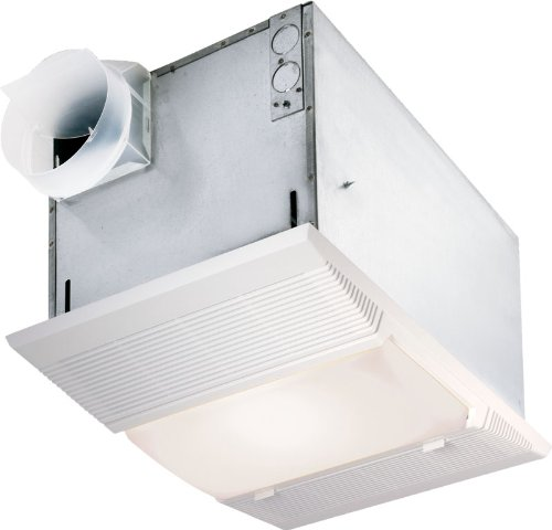 Nutone 70 Cfm Ceiling Exhaust Bath Fan W Night Light And: Nutone 9965 70 CFM 100 Watt Incandescent Light Deluxe Heat