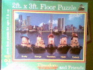 Picture of international playthings Theodore Tugboat and Friends 24 Pieces Floor Puzzle ( 2ft.x3ft.) (B000Q7UBAG) (Floor Puzzles)