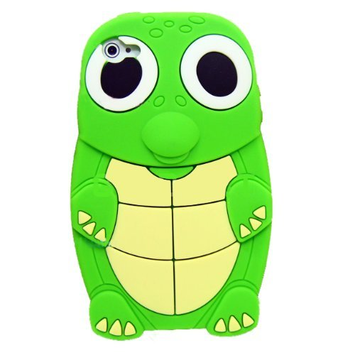 Turtle Dinosaur Silicone 3D Case Cover for iPhone