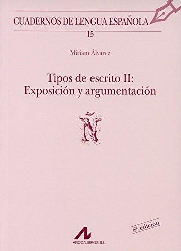 TIPOS DE ESCRITO II