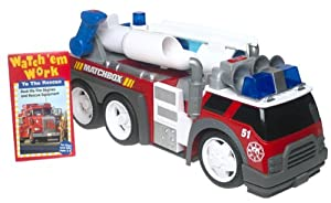 Matchbox Rescue Net Super-Blast Fire Truck