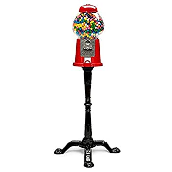"Classic Gumball Machine Bank and Stand (37"" Tall)"