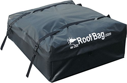 RoofBag Explorer Waterproof Soft Car Top Carrier for Any Car Van or SUV - Made in the USA | 1-Year Warranty | Ships Today (Top Cars compare prices)
