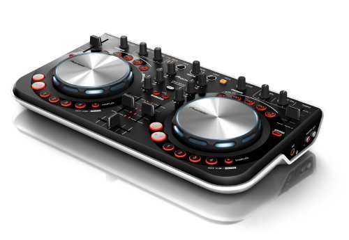 Click for Pioneer DDJ Series DDJ-WeGO WHT Digital DJ Controller, White