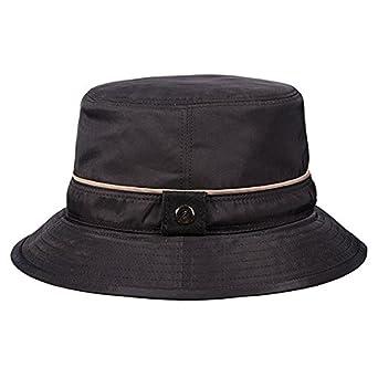 Stetson Rain Bucket Hat (L, Black) at Amazon Men's ...