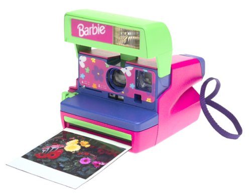 Polaroid Barbie Pink Instant 600 Film Camera