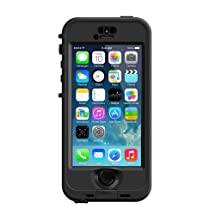 Lifeproof nuud Series Case for iPhone 5S - Retail Packaging - Black/Smoke