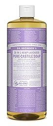 Dr. Bronner\'s Fair Trade & Organic Castile Liquid Soap - (Lavender, 32 oz)