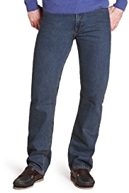 M&S Man Pure Cotton Regular Fit Jeans