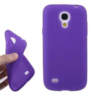 Anti-scratch Silicone Case for Samsung Galaxy S IV mini / i9190 (Purple)