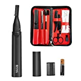9 In 1 Electric Eyebrow Trimmer Kit for Women Men,Eyebrow Precision Trimmer,Electric Eyebrow Razor for Face Body,Ladies Min Facial Brows Hair Removal Painless Peach Fuzz Shaver