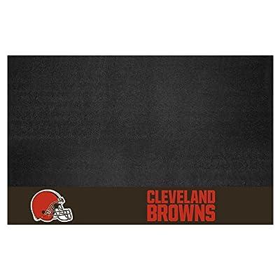 FANMATS NFL Cleveland Browns Vinyl Grill Mat